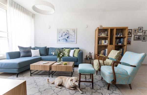 פרויקט שיפוץ, עיצוב והום סטייליינג – דירת 4 חדרים בנס ציונה