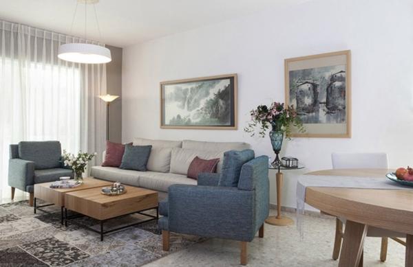 שיפוץ, עיצוב והום סטיילינג – דירת 5 חדרים ברחובות