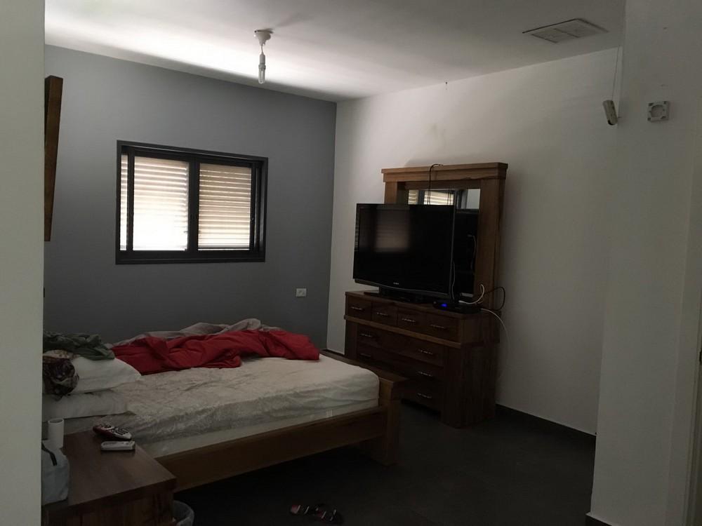 חדר שינה זוגי לפני המהפך